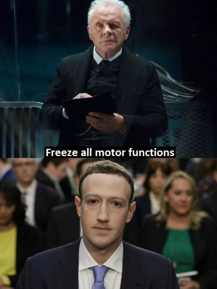 Freeze all motor functions Mark